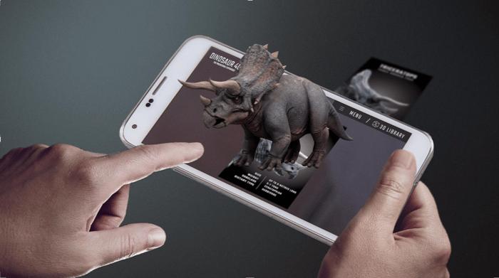 Dinosaur 4D app