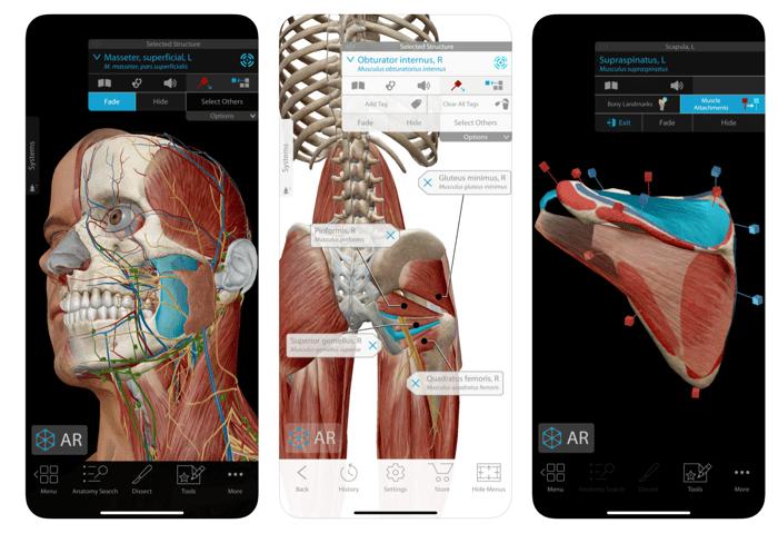 Human Anatomy Atlas app
