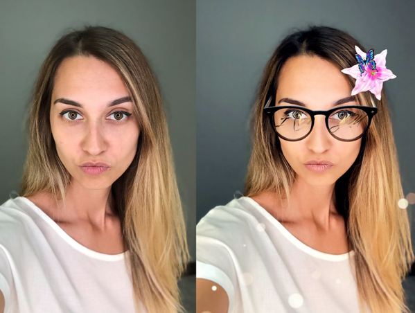 banuba AR face filters cure effects