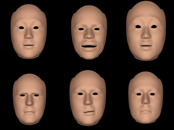 Banuba face tracking morphs 1