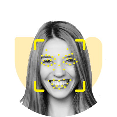Monitor facial expressions via camera
