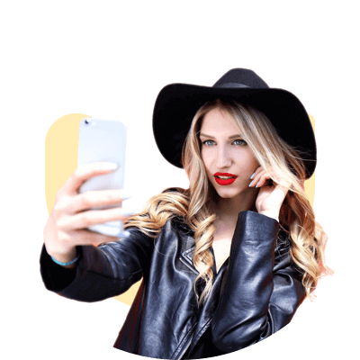 Snap a selfie
