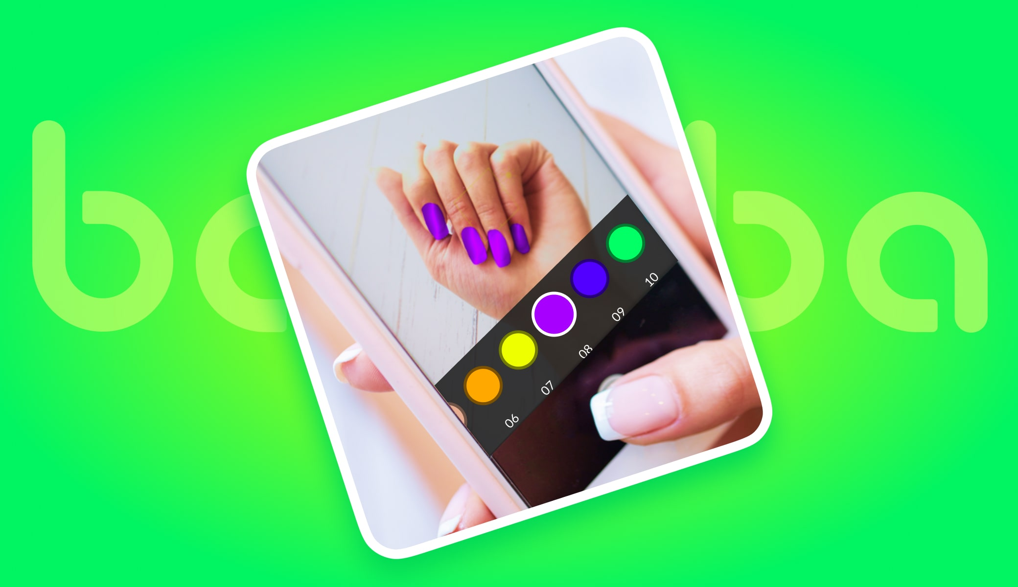ar nails try on